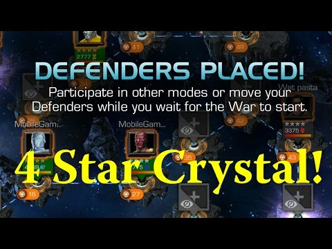 Marvel Contest Of Champions - 4 Star Opening ALLIANCE WARS ARE HERE!