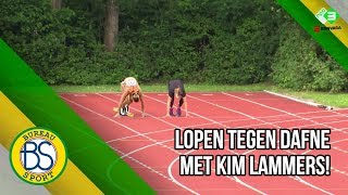 Oud-hockeyster Kim Lammers loopt 100m tegen Dafne Schippers!