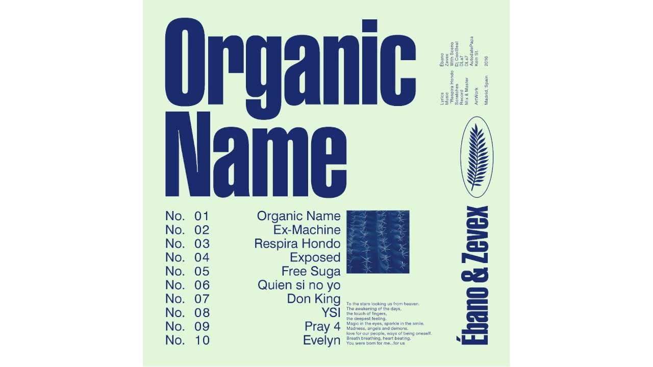 ORGANIC NAME /// 03 .RESPIRA HONDO - YouTube