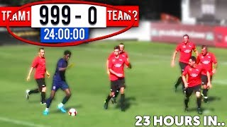 Who can SCORE the MOST GOALS in 24 Hours Soccer Match? (Football Challenge)