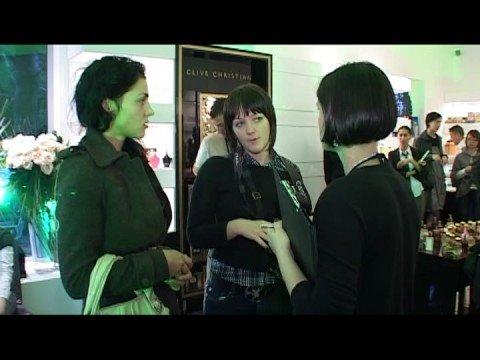 Victoria Christian at Madison Luxury Perfumery, Romania