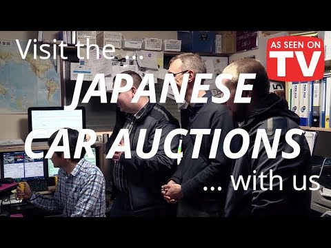 Japanese car auctions: TVN Turbo TV Show Visits With Integrity Exports