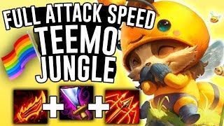 DOES MAX ATTACK SPEED TEEMO JUNGLE WORK?! - League of Pride - Off Meta Monday - League of Legends