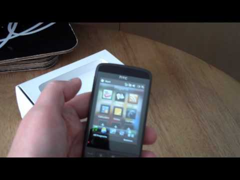 HTC Touch2 Unboxing