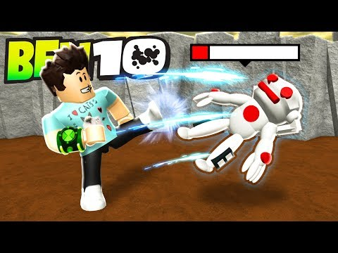 BEN 10 FIGHTING GAME IN ROBLOX
