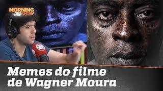 Caio Coppolla comenta memes de Wagner Moura