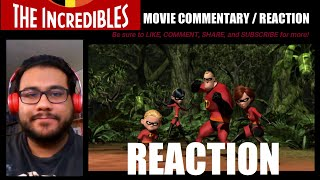 """Watching PIXAR'S """"THE INCREDIBLES"""" (2004) for the FIRST TIME! MOVIE REACTION/COMMENTARY!!"""