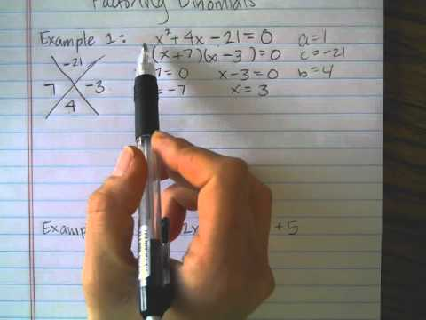 Factoring Trinomials With Magic - YouTube