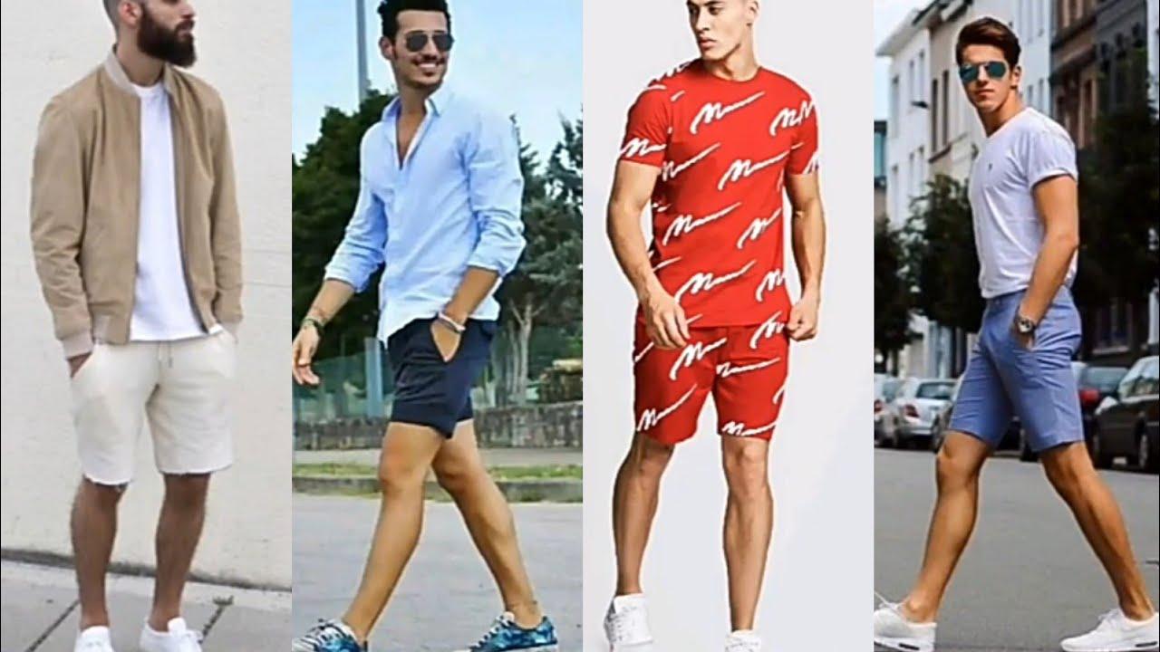 Ideas Outfits De Primavera Verano Con Bermuda Pantalones Cortos Para Hombres En Tendencia 2020 2021 Youtube