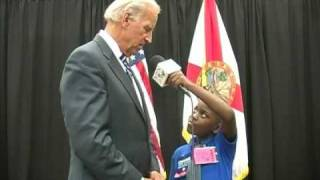 Joe Biden answers What does a Vice President do?