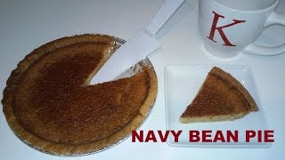 NAVY BEAN PIE RECIPE