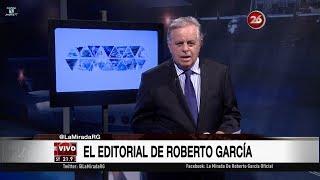 """Comentario editorial de Roberto García en su programa """"La mirada"""" - 04/12/17"""