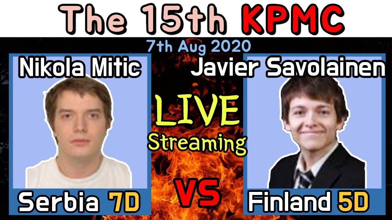 [KPMC] Live broadcasting Serbia Nikola vs Finland Javier GoproYeonwoo