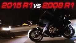 2015 Yamaha R1 vs 2008 Yamaha R1