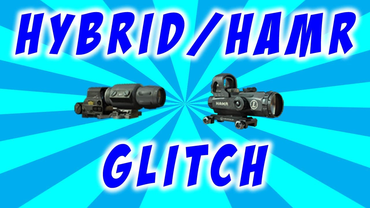 Hybrid Sight Mw3 Mw3 Hybrid Sight Hamr Scope