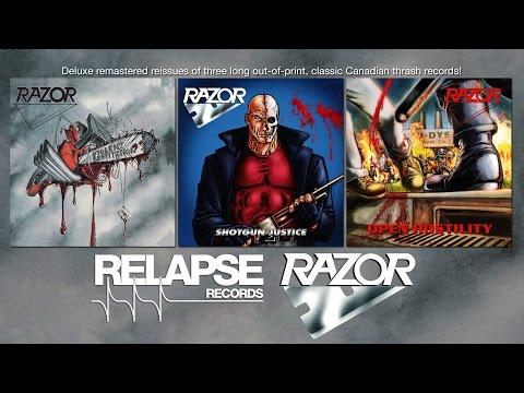 """RAZOR - """"Violent Restitution"""" (Official Remastered Track)"""