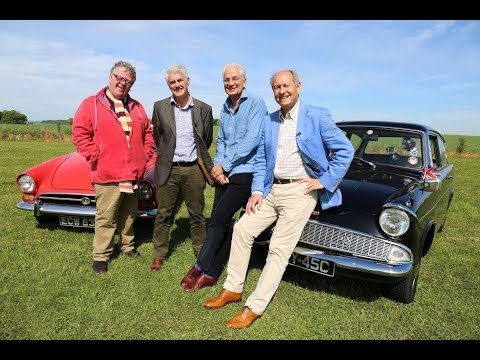 Celebrity Antiques Roadtrip - Ford Anglia ERY 45C - David Gower OBE - 2017