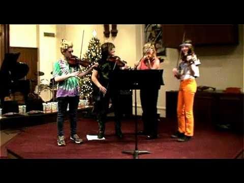 Nissa's String Studio 2010 Christmas Recital - Stayin' Alive