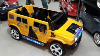 Mywholesale.in HUMMER STYLE KIDS JEEP  manual and remote control drive strong body lights n music