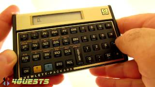 HP 12C SIMPLE ARITHMETIC (Addition Subtraction Multiplication Division)
