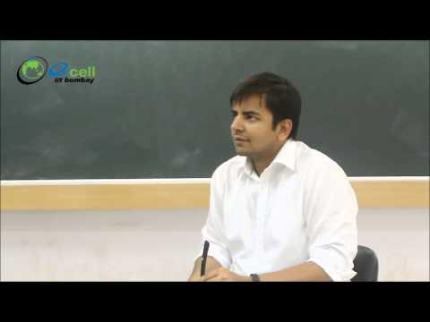 Bhavish Aggarwal at IIT Bombay
