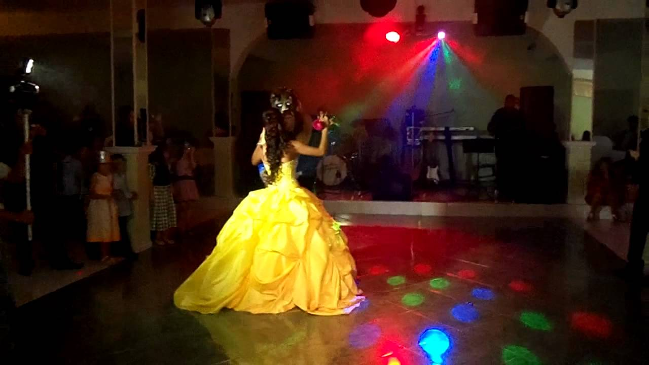 Beauty And The Beast Quinceanera Youtube
