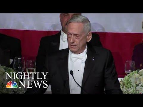 Former Top Military Officials Mattis And McRaven Criticize President Donald Trump | NBC Nightly News