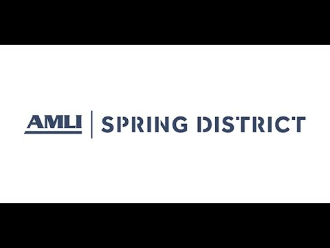 AMLI Spring District - Drone Video
