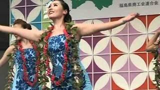 スパリゾートハワイアンズダンシングチーム 8月4日 赤坂TBS東京放...