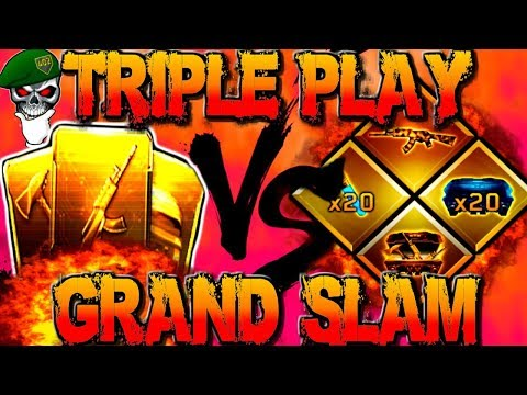 Black Ops 3 Triple Play Contract  Vs BO3 Grand Slam! New COD Black Ops 3 DLC Contract