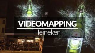 VIDEO MAPPING Heineken - Milano - Giochi di Luce