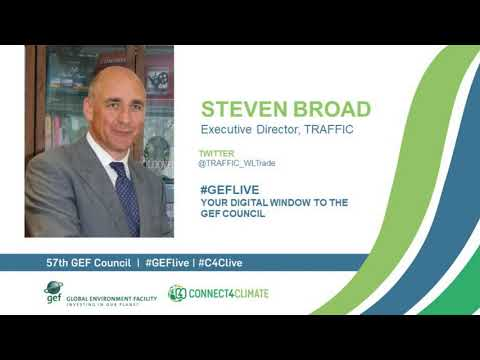 Steven Broad at GEF Live - Your digital window to the 57th Council