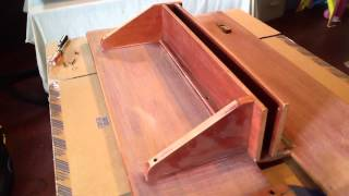 1985 Bianca Aphrodite 101 Restoration Part 3 - Drop-leaf Table Breakdown And Sanding