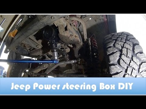 How To Replace A Jeep Tj Power Steering Box Diy