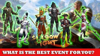 Shadow Fight 3: What is The Best EVENT For You? FULL SET EVENT REVIEW√