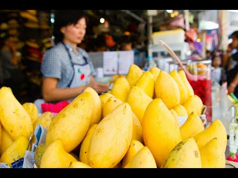 Exploring a Bangkok Local Market Instagram Stories