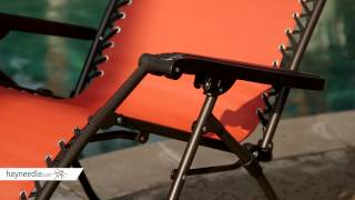 Caravan Canopy Zero Gravity Lounge Chair - Product Review Video