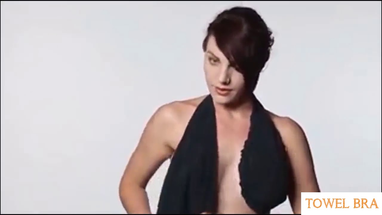 eff7576135 Genius-looking Towel Bra - YouTube