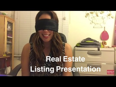 Real Estate Listing Presentation Memorized