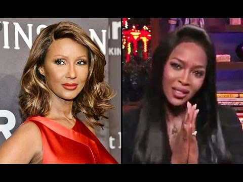 Naomi  Campbell - On Iman  (2017 Interview)