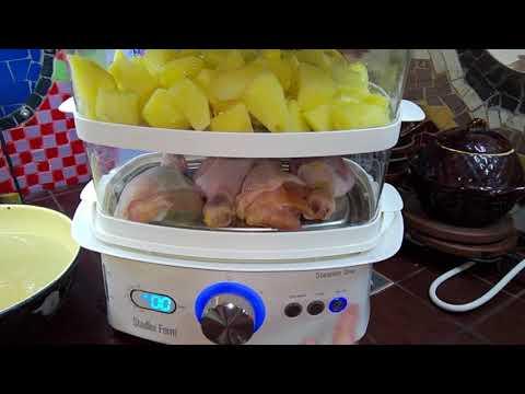 Как готовить в пароварке видео