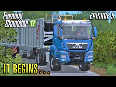 Farming Simulator 2017 | IT BEGINS... | Sandy Bay | Episode 5