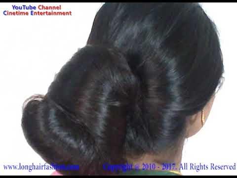 Amazing Big Bun Fall On My Face YouTube - Big bun hairstyle youtube