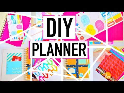 planner tour diy affordable agenda doovi