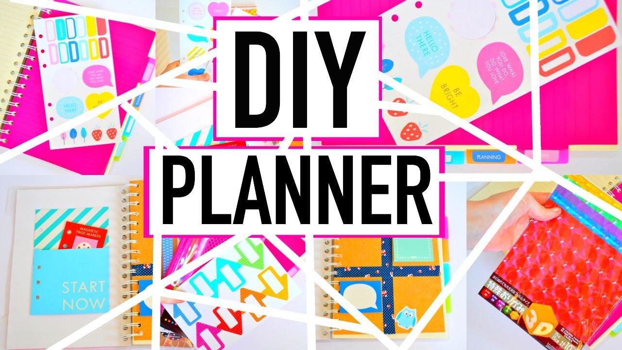Diy Planner On A Budget Organization Back To School