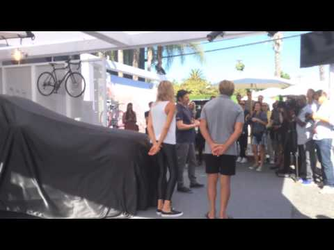 Land Rover Discovery 5 Reveal with Laird Hamilton and Gabrielle Reece
