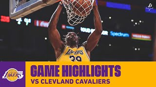 HIGHLIGHTS | Dwight Howard (21 pts, 15 reb, 9-11 FG) vs. Cleveland Cavaliers