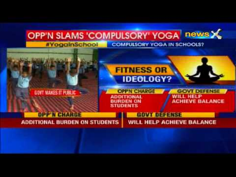 Yoga to be introduced as a subject in government schools