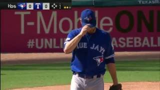 October 06, 2016-Toronto Blue Jays vs. Texas Rangers {ALDS G1}