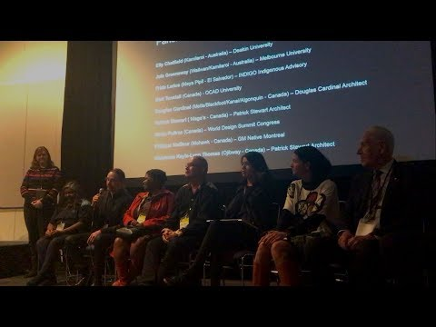 World Design Summit, Montréal, Canada: International Indigenous Design Network panel discussion